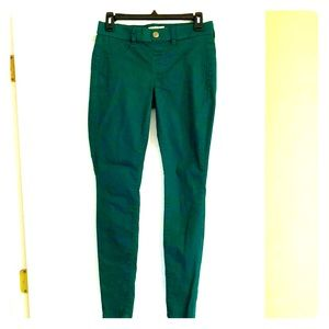 Green Low-rise Jegging